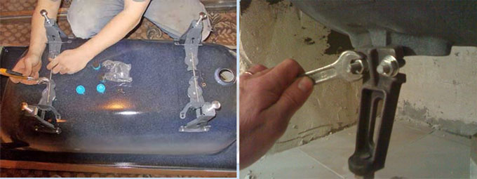 ванна-ножки