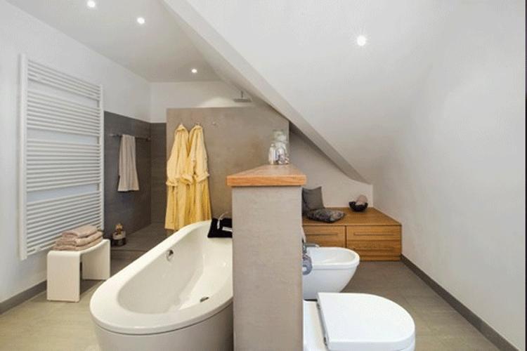 Зонирование ванной комнаты